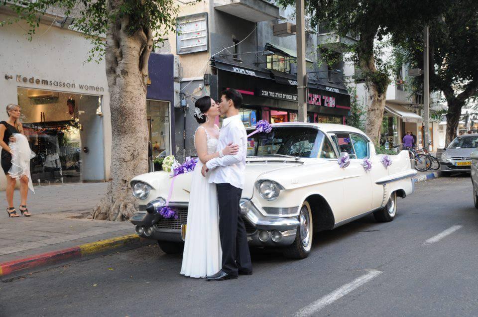 רכב אספנות להשכרה לחתונה