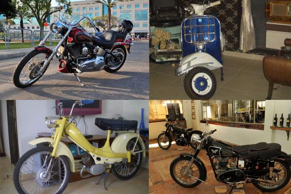 אופנוע אספנות להשכרה